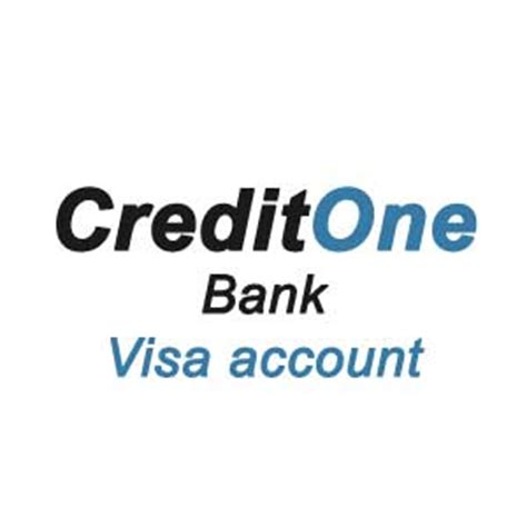 Get your Credit One Bank Visa account on www