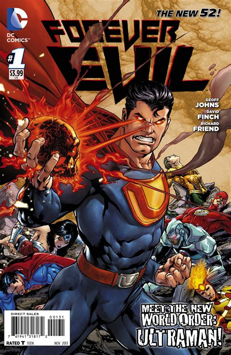 'Forever Evil': Geoff Johns, David Finch conspire on Crime