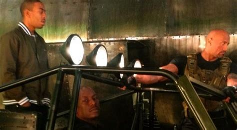 Another Set Photo & Video From FAST & FURIOUS 6! - FilmoFilia