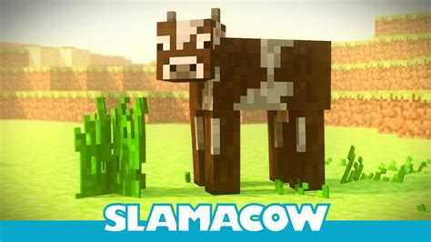 The Hungry Cow - Minecraft Animation - Slamacow - YouTube