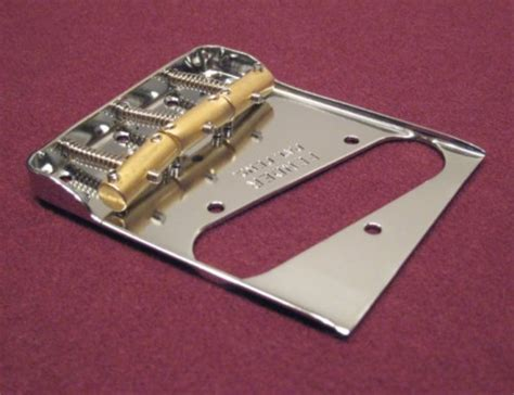 Fender Telecaster Double Notched Bridge - with Custom