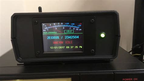 New Nextion screen design for the MMDVM - YouTube