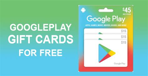Google Play Gift Cards - Get Free Codes