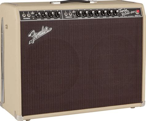 Fender FSR 65 Twin Reverb - Blonde/Oxblood - Long