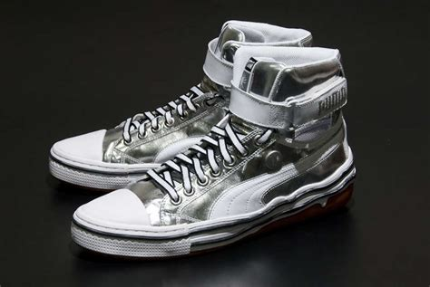 13 Gold & Silver Tennis Shoes