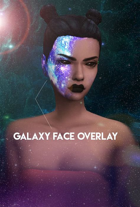 Galaxy CC Collection 1 - Galaxy Face Overlay by KJSims