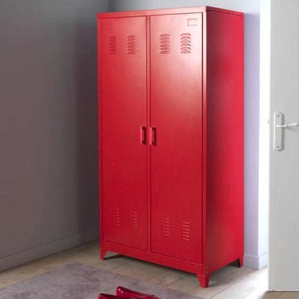 Armoire Metallique Rouge d'occasion
