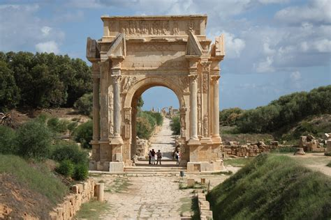 Leptis Magna, Khoms, Libya | Most Beautiful Places in the