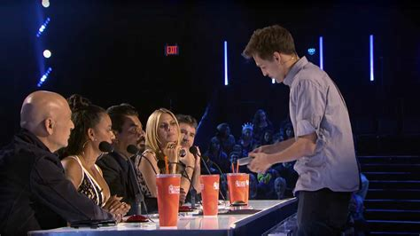 Magician Blake Vogt Rips and Eats the Judges' Money