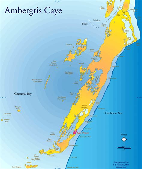 Dive Belize, Map and Info on Dive and Snorkeling Sites off