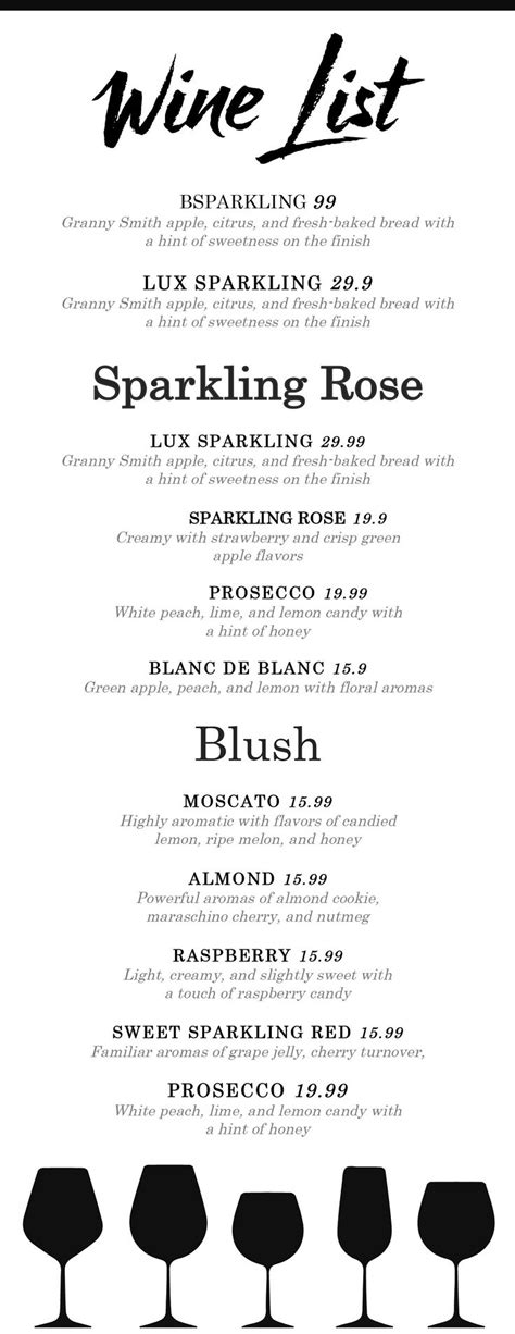 Wine List - Wine Menu #LETTER#Text#Files#MENU | Menu