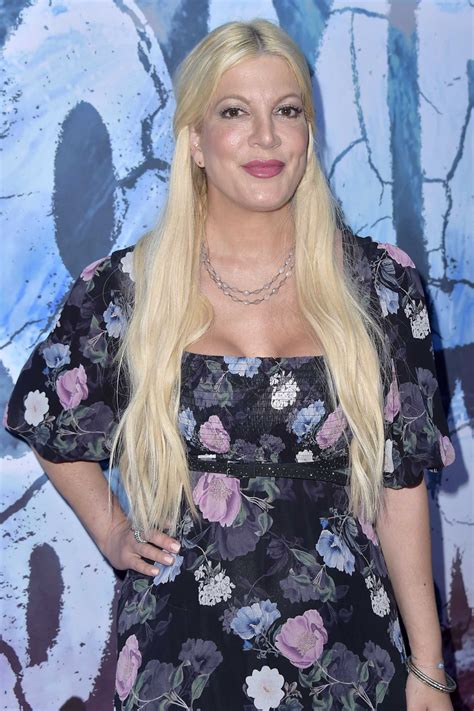 Tori Spelling Attends the Zombie Tidal Wave Premiere at
