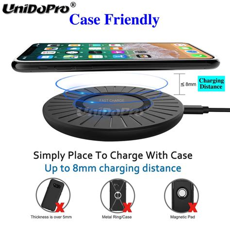 10W Fast Wireless Charger Pad for Blackview BV9800 BV9700