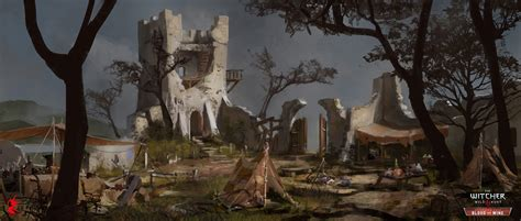 The Witcher 3: Wild Hunt - Blood & Wine Concept Art by
