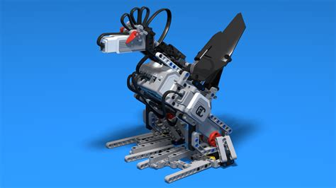 FLLCasts | Alice, the rooster robot, built with LEGO