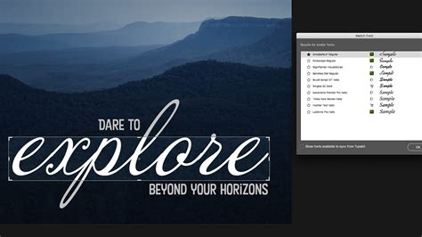 Photoshop tutorial: How to use Photoshop's new Match Font