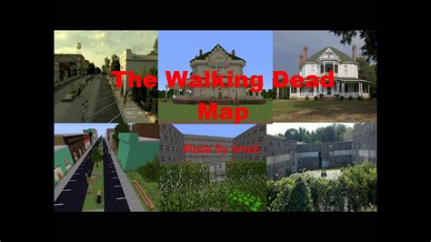MineCraft The Walking Dead With [Map Download Link] - YouTube