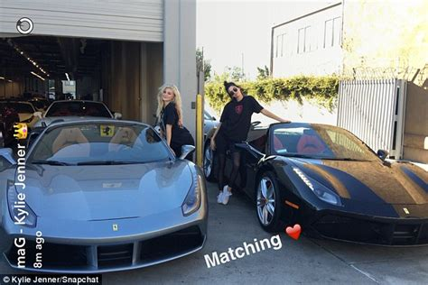 Kendall and Kylie Jenner show off their new matching