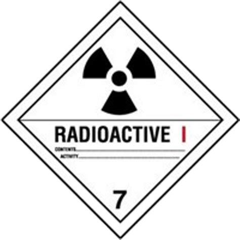 Class 7 - Radioactive Materials Archives - CFT Canada