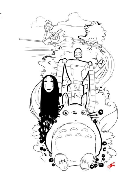 Animated film Sketch for Tattoos