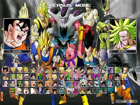 Dragon Ball Raging Blast 2 Mugen - Download - DBZGames