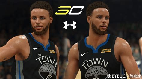Stephen Curry Cyberface and Body Model V4 By wait for